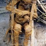 Corpo Mummificato-Villaggio di Aseki-PNG