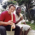 Canna da zucchero- in viaggio da Wewak ad Angoram-PNG