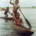 L'onore dell'accoglienza ricevuta-Villaggio di Kambaramba-PNG