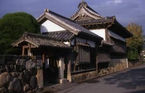 Abitazione-Città di Hagi-Giappone