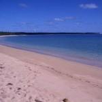 Spiaggia sul lato sx della mia capanna-Uoleva-Isole Tonga
