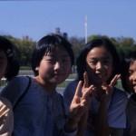 Bimbe-Parco della Pace-Hiroshima-Giappone