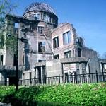 Resti del Nucleare-Parco della pace-Hiroshima-Giappone