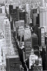 Veduta dall'Empire-NYC